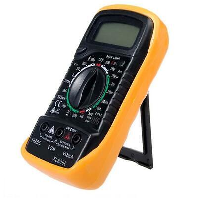 Xl830l Acdc Volt Meter Ammeter Ohmmeter Multi Tester Lcd Digital Multimeter Ha