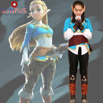 Zelda Breath of the Wild Princess Zelda Costume Cosplay Halloween - Halloween Costumes Princess Zelda