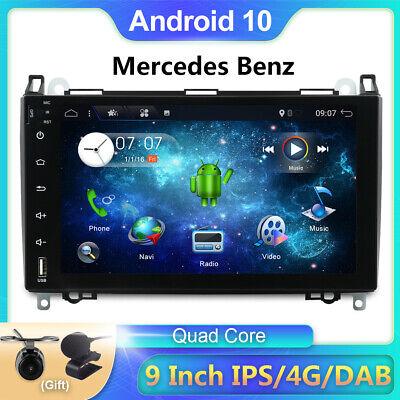 "9"" Android 10 DAB+ Autoradio For Mercedes Benz A Klasse Sprinter Vito Viano GPS"