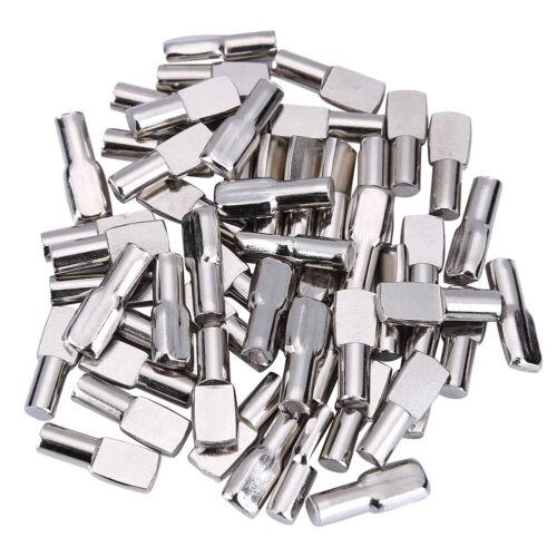 120PCS Shelf Pins 5mm Spoon Shape Cabinet Furniture Support