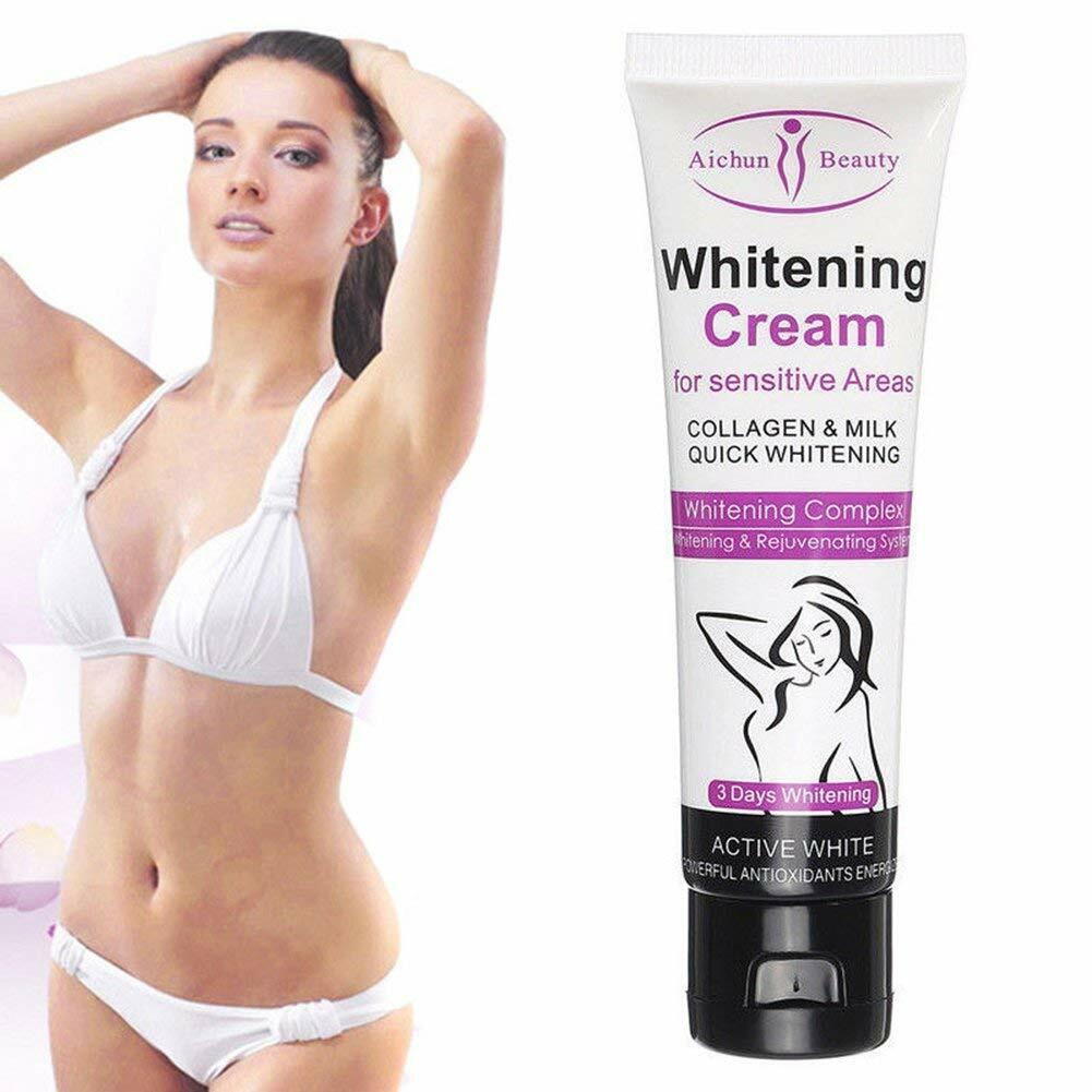3 Days Body Skin Whitening Cream for Sensitive Area Armpit L