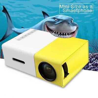 Portable Mini Projector YG300 3D HD LED Home Theater Cinema 1080p AV USB HDMI US