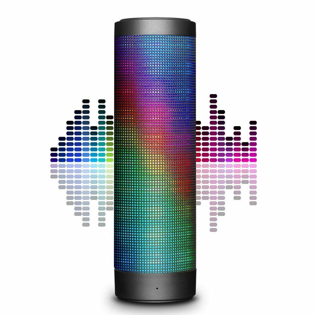 Wireless Portable Bluetooth Speaker Hi-Fi 4.0 Stereo LED Lig
