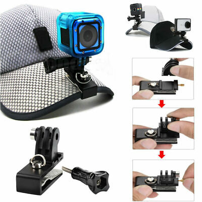 TELESIN Zaino Cappello Cappello Clip Morsetto Supporto per Gopro Hero 5 4