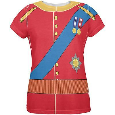 Halloween Prince Charming William Costume All Over Womens T Shirt - Prince William Halloween Costume