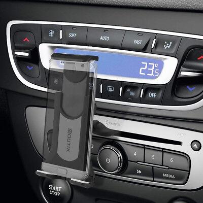 Moutik 360° Magnet CD Schlitz KFZ Halterung Auto Handy Halter Slot Universal (Handy-halter Cd-schlitz)