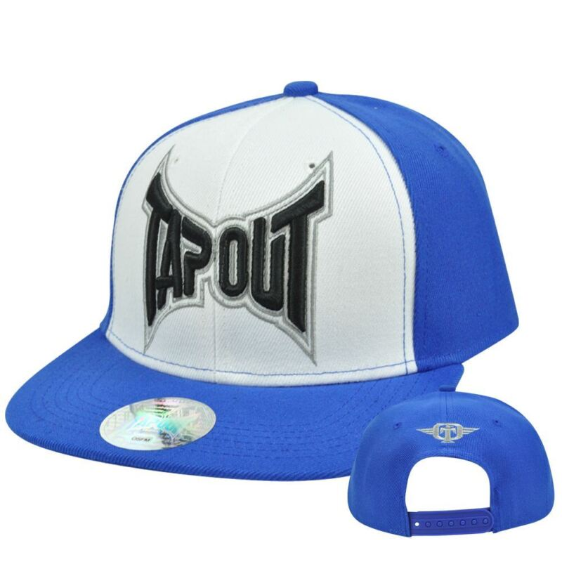 Tapout UFC Cage Fighting Adjustable Snapback Flat Bill  Officially Licensed Hat