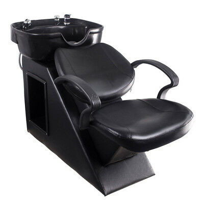 Backwash Barber Shampoo Chair Bowl Sink Unit Station Spa Salon Beauty Equipment