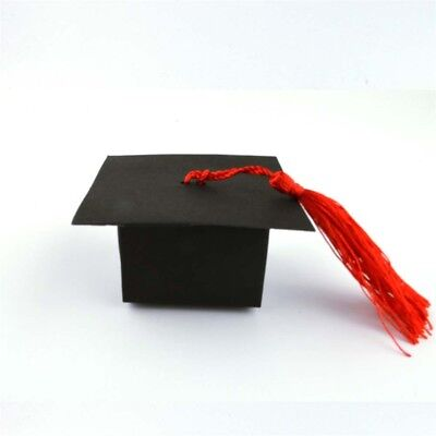 Doctorial Hat Graduation Candy Box Gift Cookie Party Wedding Style Favors Boxes](Graduation Hat Favor Boxes)