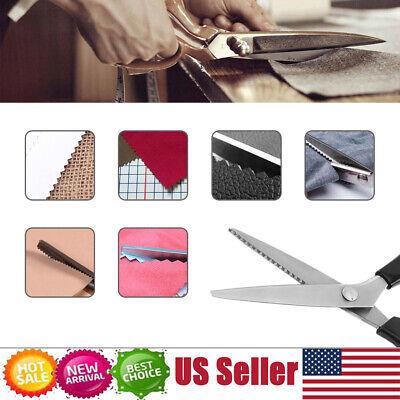 Fabric Decor Edge Pinking Shears Scissors Clipper Large Scallop cut 7mm Pinking Shears Scissors