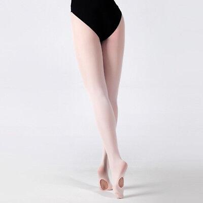 Kinder Mädchen Erwachsene Balletttanz Strumpfhosen Strumpf Footed Socken Flach
