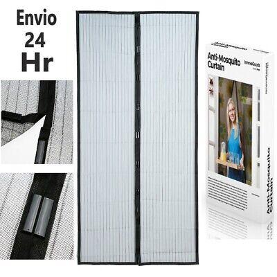 Cortina Mosquitera para Puerta Magnética 100 x 210 cm Color Blanco