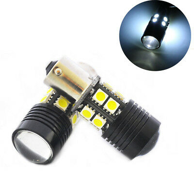 2Pcs 6W White  12-SMD 1156 BA15S 1141 Car Tail Backup Reverse LED Light Sale