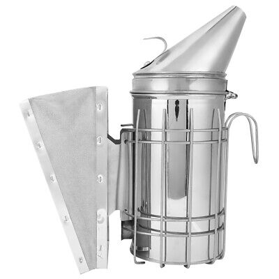 Bees Hive Smoker Stainless Steel With Heat Calming Beekeeping Equipment