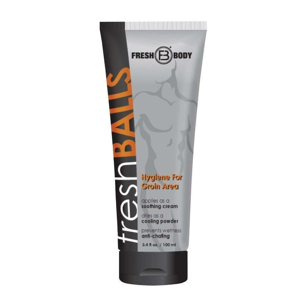 Fresh Balls Lotion for Men, 3.4 fl oz