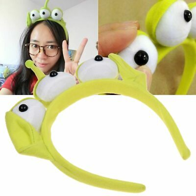 Kids Adult Lovely Toy Story Alien Ears Costume Plush Headband Hair Accessories - Toy Story Alien Costumes