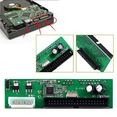 SATA TO PATA IDE Converter Adapter Plug&Play 7+15 Pin 3.5/2.5 SATA HEH DVD EH