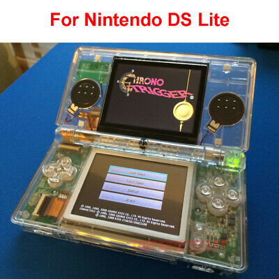 OEM Full Replacement Housing Shell Screen Lens Clear For Nintendo DS Lite NDSL Nds Lite Replacement Shell
