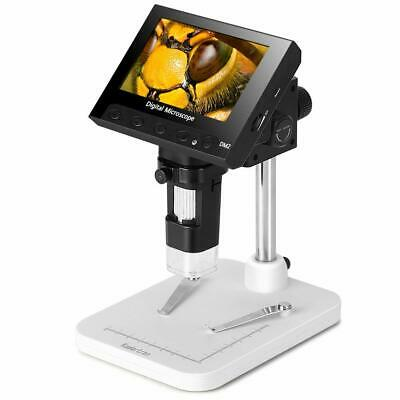 4.3 Inch Lcd Video Microscope For Phone Watch Repair Soldering Pcb Inspection