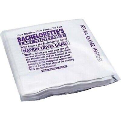 Bachelorette Napkin Trivia Game #00150 Napkin Trivia Game