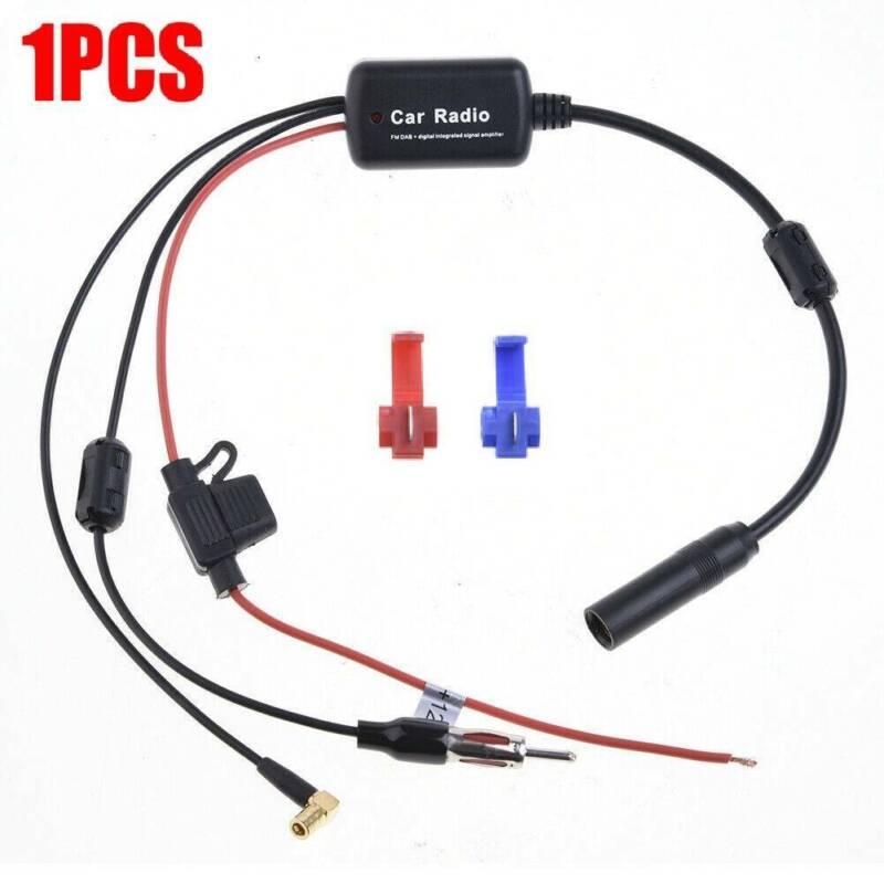 DAB+ Antenne Splitter Radio Adapter FM Antennenverstärker Frequenzweiche Adapter