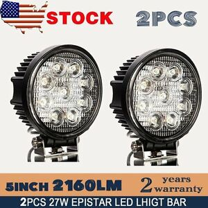 12 Volt Round Led Lights Ebay