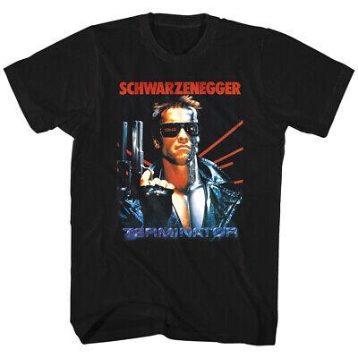 OFFICIAL Terminator Schwarzenegger Movie Poster Men's T-Shirt