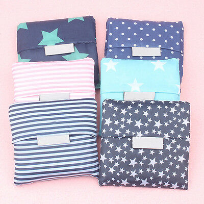 Cute Reusable Grocery Bags (Cute Foldable Reusable Eco Storage Travel Shopping Tote Grocery Bag Big)