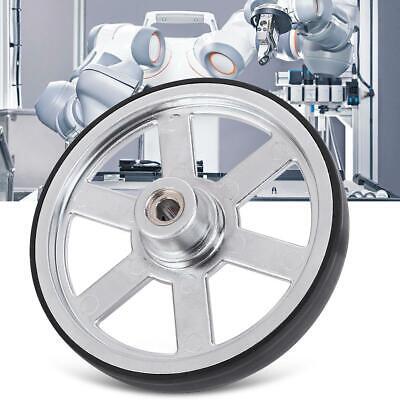 90mm 6mm Inner Diameter Metal Wheels For Industrial Robot Parts Replace New
