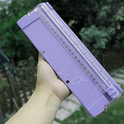 Hot A4 Precision Paper Card Art Trimmer Photo Cutter Cutting Mat Blade Ruler