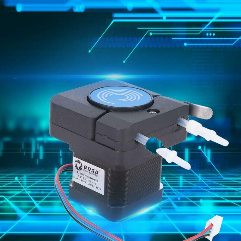 Micro Anti-Corrosion Peristaltic Pump Head With Large Flow 42 Stepper Motor