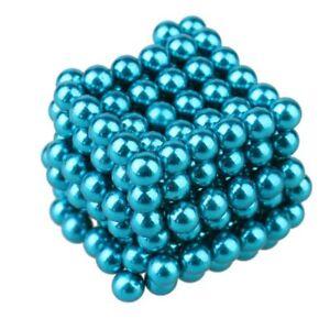 216 Pcs 5mm DIY Neo Magnet Cube Magic Beads Magnetic Balls Sphere Puzzle USA