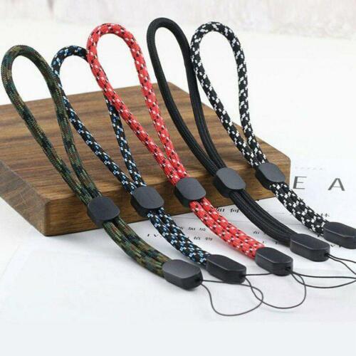 Survival Paracord Bracelet DIY Digital camera Wrist Strap Outdoor Emergency Z