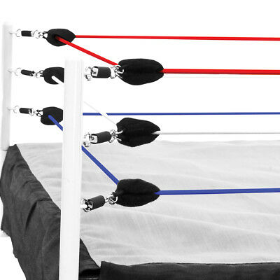 Red, White & Blue Ring Ropes for WWE Wrestling Action Figure - Wwe Wrestling Toys