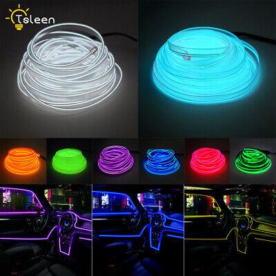 6.6/16.4ft EL Wire Draht Auto Kostüm LED Neon-Kabel Lichterkette - El Draht Kostüm