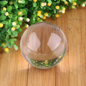 80mm Contact Ball - 100% Crystal Clear Acrylic Ball - Manipulation Juggling New