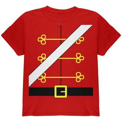 Christmas Toy Soldier Nutcracker Costume Youth T Shirt - Toy Soldier Nutcracker Costume