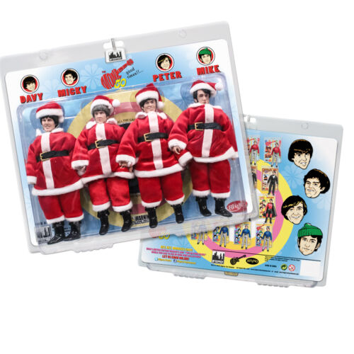 The Monkees 8 Inch Retro Action Figure Variants: Santa Outfit Four-Pack