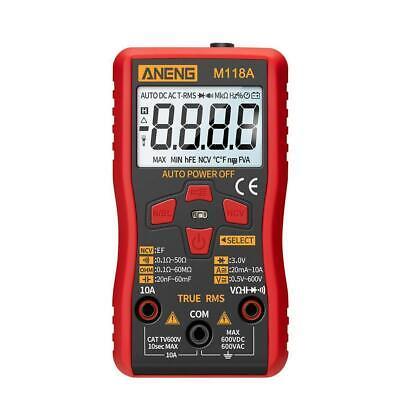 Digital Lcd Multimeter Ammeter Ac Dc Voltage Ohmmeter Tester Meter Auto N