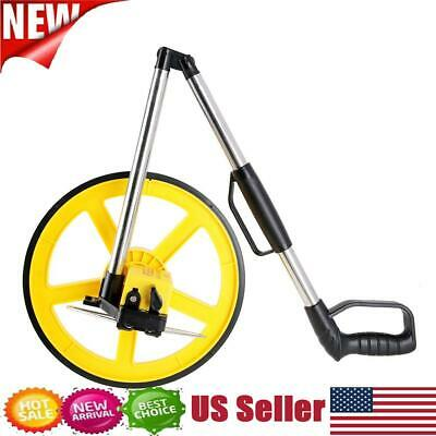 New Foldable Distance Measuring Wheel Measure Surveyors Builders Road Land