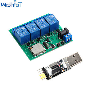 Esp32s Wifi Bluetooth Relay Android Smart Remote Control Switch Wireless Module