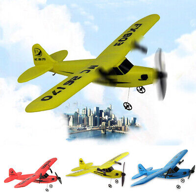 RC Airplane Glider RTF Radio Plane Outdoor Easy to Fly