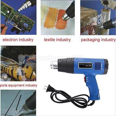 Pro Hot Air Gun Heat Gun Blower 1800w (400°/600°) Paint Drying Striping Tool New