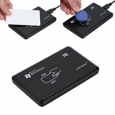 Smart 125khz Nfc Id Card Rfid Writercopierreaderduplicator Usb For Windows