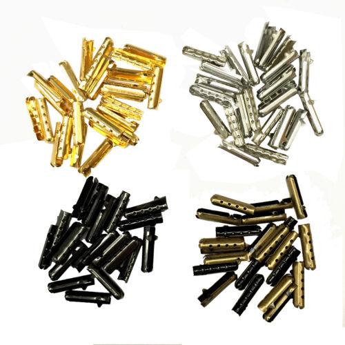 Metal Aglets Diy Shoelaces Repair Shoe Lace Tips