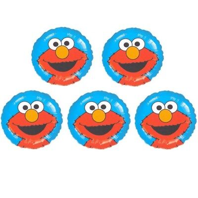 Face Birthday Foil Balloon Party Decorations Fillers #07994 (Elmo Ballons)