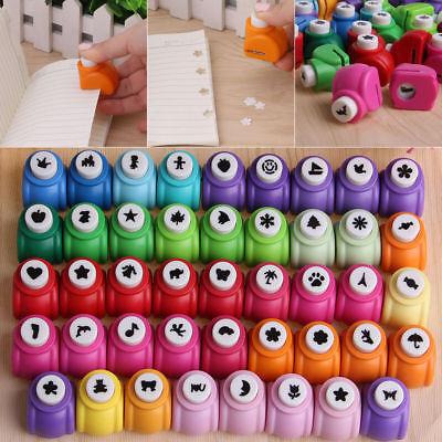 Christmas DIY Paper Shaper Crafts Hole Mini Punch Scrapbooking Tools Set Mini Paper Punches