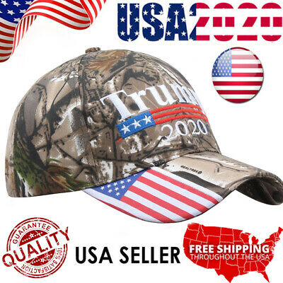 Trump 2020 MAGA Camo Embroidered Hat Keep Make America Great Again Cap A++++ USA