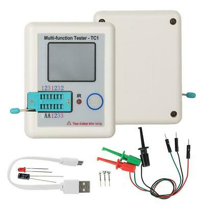 Lcr-tc1 Transistor Tester Esr Capacitance Meter Electronic Component Npn 2021
