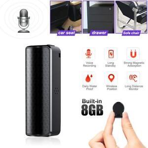 UK 8GB USB Digital Sound Voice Recorder Mini Long Recording Spy Hidden Device